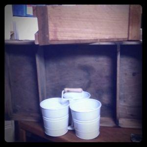 Triple milking bucket